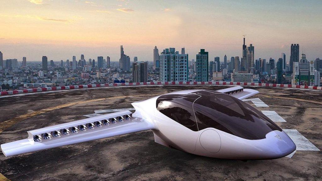 Aerotaxi Lilium Jet