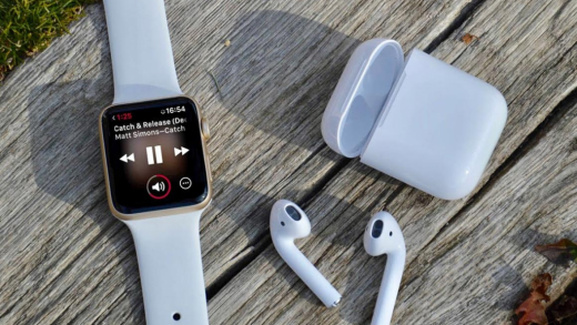 AirPods and Watch