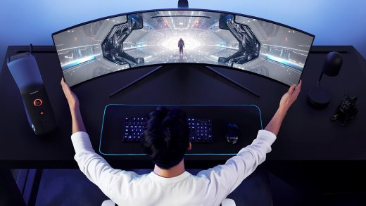 Samsung unveils new Odyssey gaming monitor