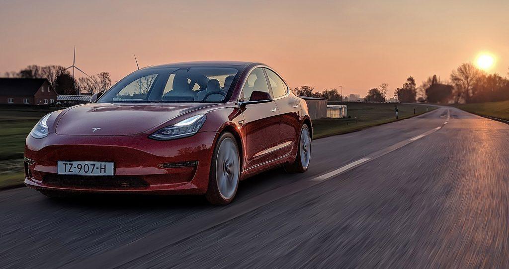 Tesla car auto cars