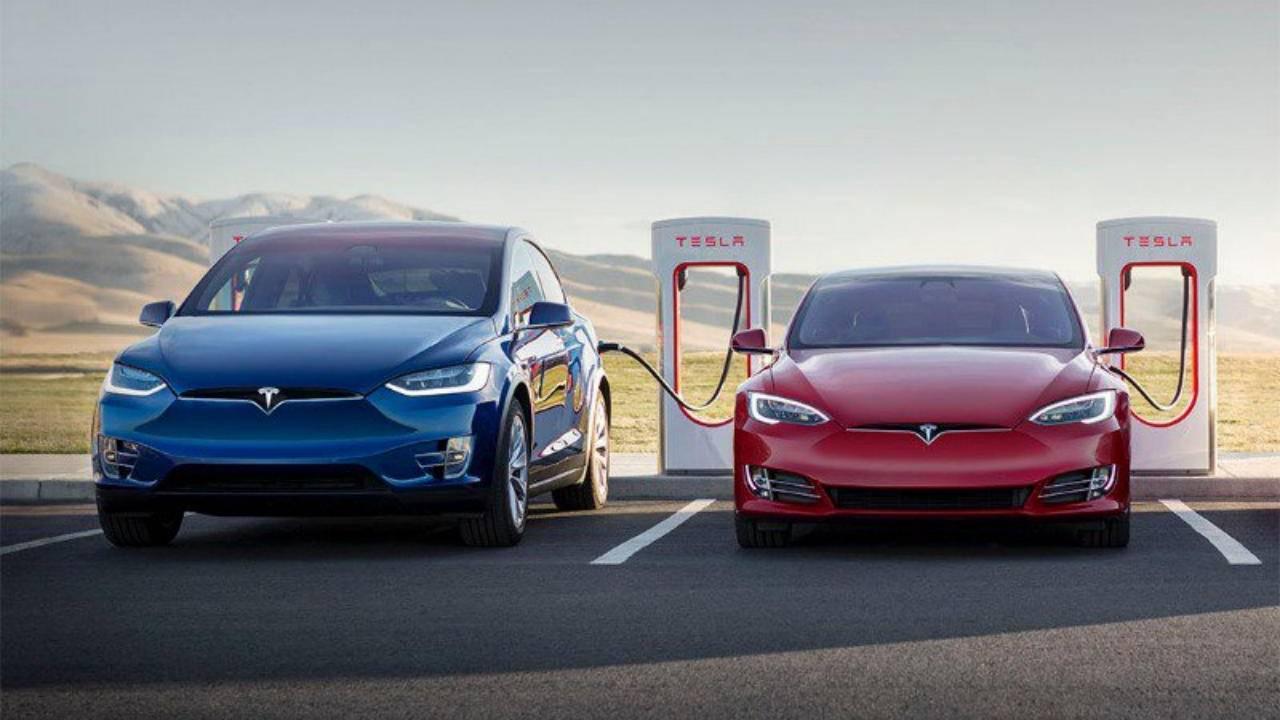 Tesla Auto Car Cars