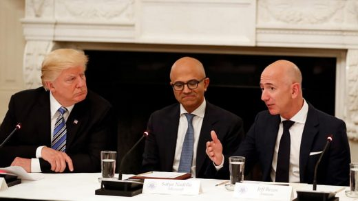 Microsoft Amazon