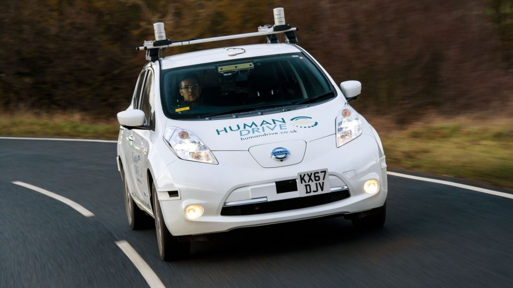 The Nissan LEAF is the first all-electric car built in the UK, and set an autonomous driving record too