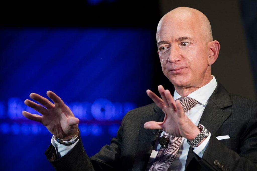 Amazon Facebook Jeff Bezos