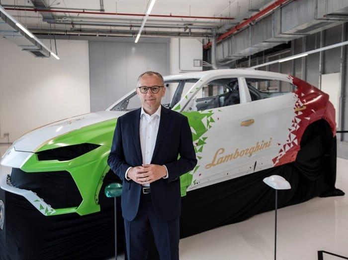 Lamborghini CEO Stefano Domenicali. Lamborghini