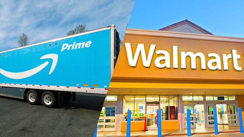 Amazon  Walmart