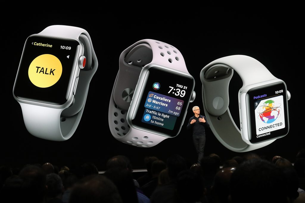 Apple Watch updates at the 2019 Apple WWDC In San Francisco.