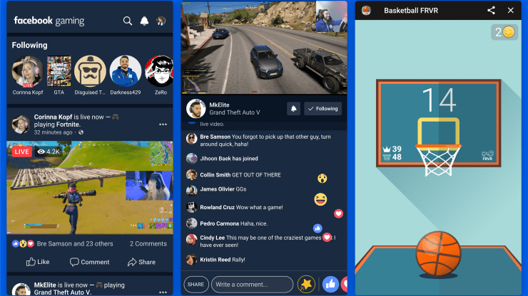 Facebook Gaming is the social network's answer to streaming platforms like Twitch and YouTube.