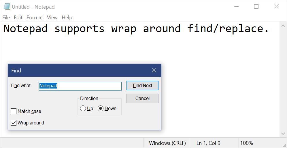 Microsoft Store Windows Notepad