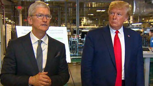 Donald Trump Apple CEO Tim Cook