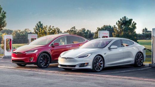 Tesla Model S and Model X