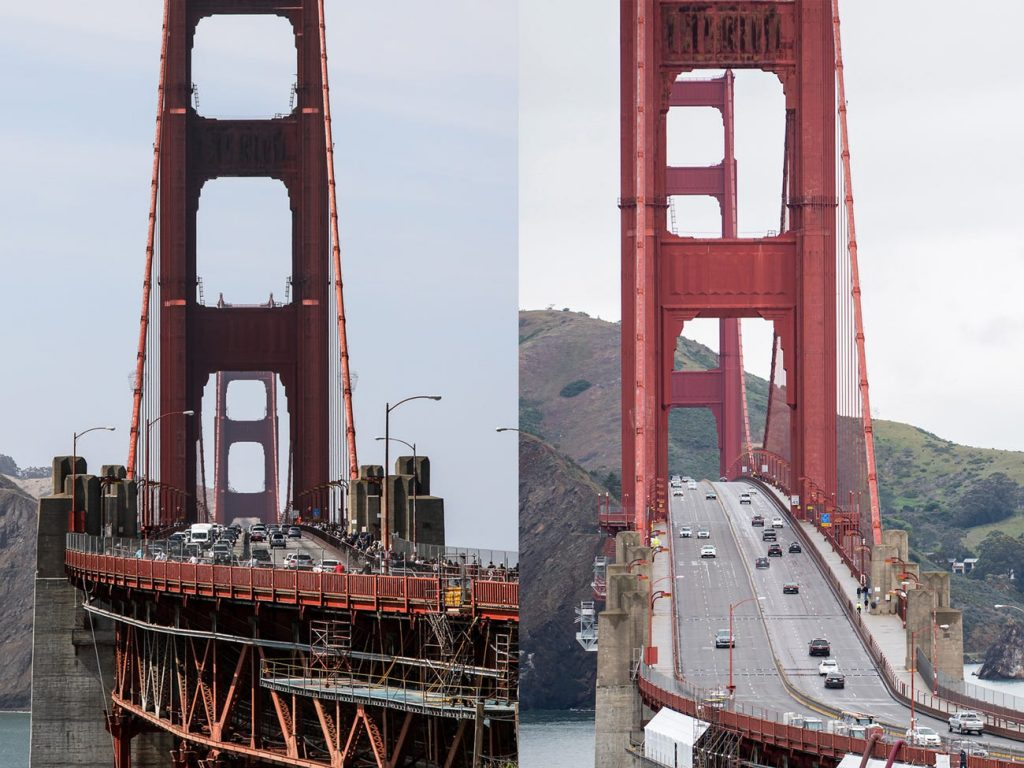 The Golden Gate Bridge, Lombard Street, and Fisherman's Wharf are empty of visitors as the coronavirus outbreak keeps people indoors