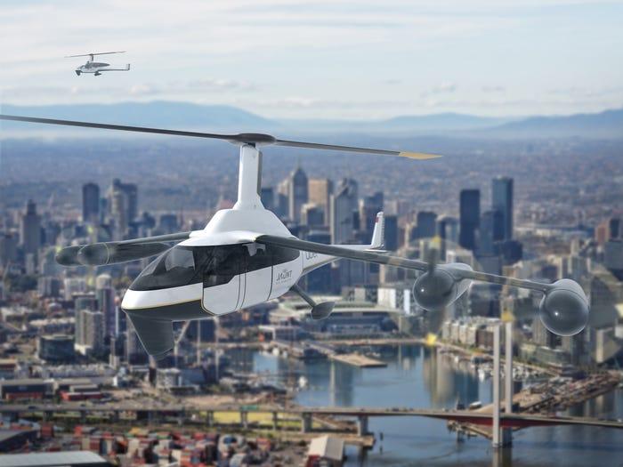 A Jaunt Air Mobility Journey eVTOL