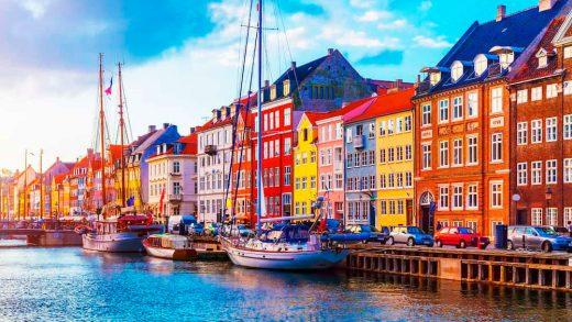 Europe and Copenhagen