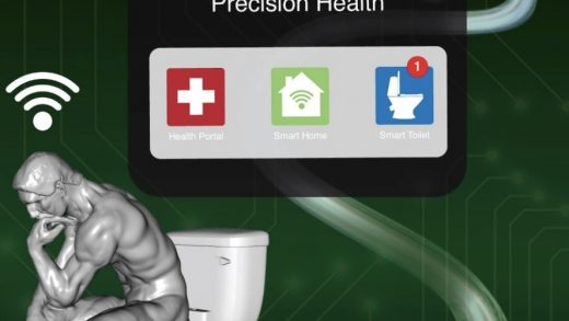A smart toilet could identify you by your 'analprint' and detect diseases