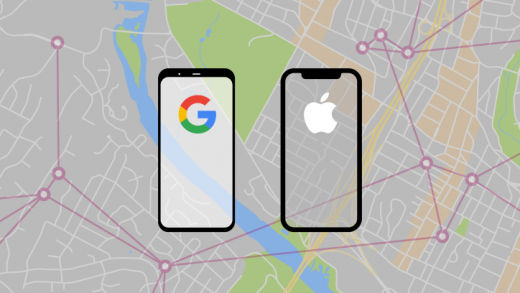 Apple end Google