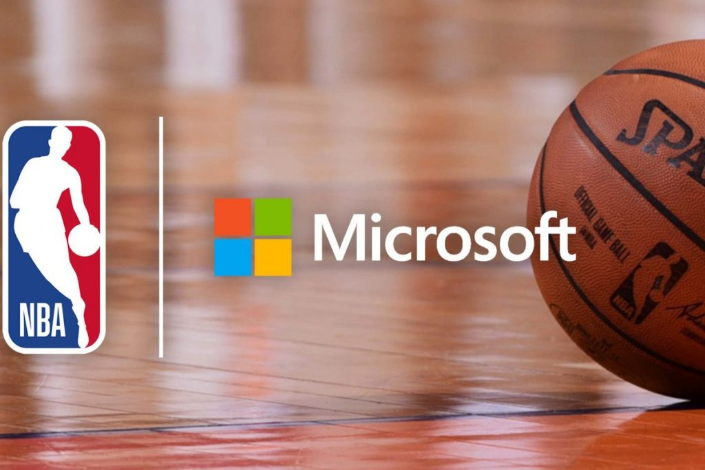 Microsoft NBA Azure Surface