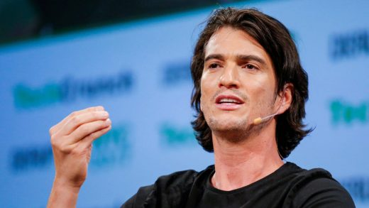 WeWork co-founder Adam Neumann