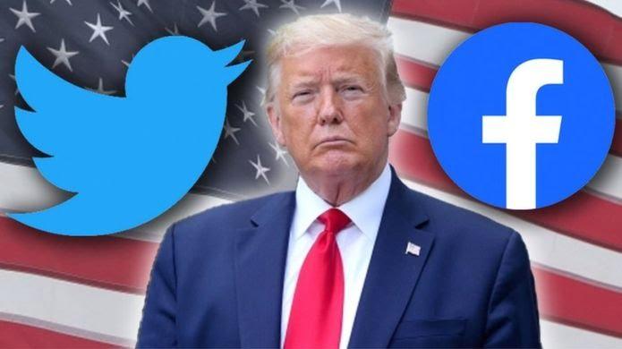 Donald Trump's Facebook Twitter