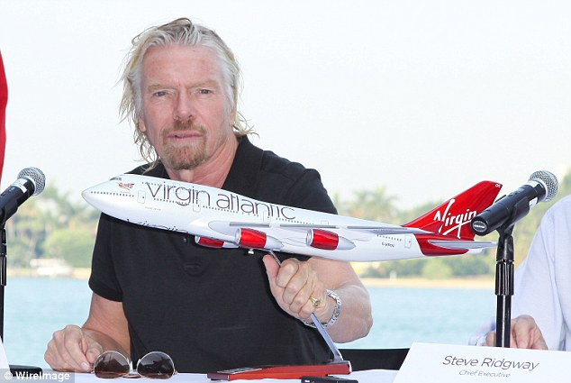 Sir Richard Branson Virgin Atlantic