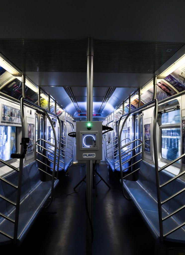 NYC subways coronavirus