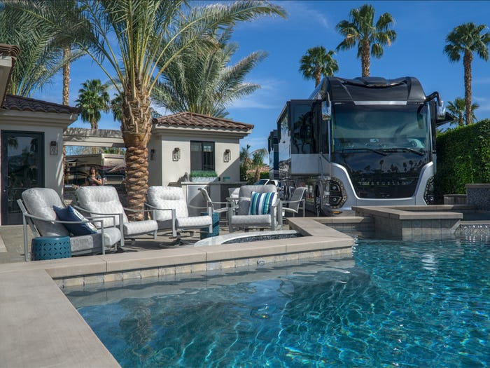 desert isles lot 93 Motorcoach Country Club