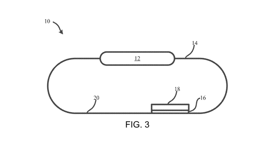 Apple From the patent, one image looks like it could use the Watch strap USPTO