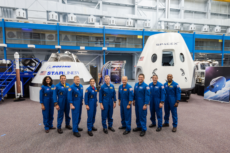 NASA selected both Boeing and SpaceX to ferry astronauts to the International Space Station. The combined value of both contracts is over $6 billion. NASA
