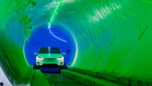 Tesla The Boring Company's test tunnel in Hawthorne, California.