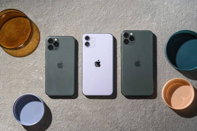 Apple iPhone 11  iPhone 11 Pro.