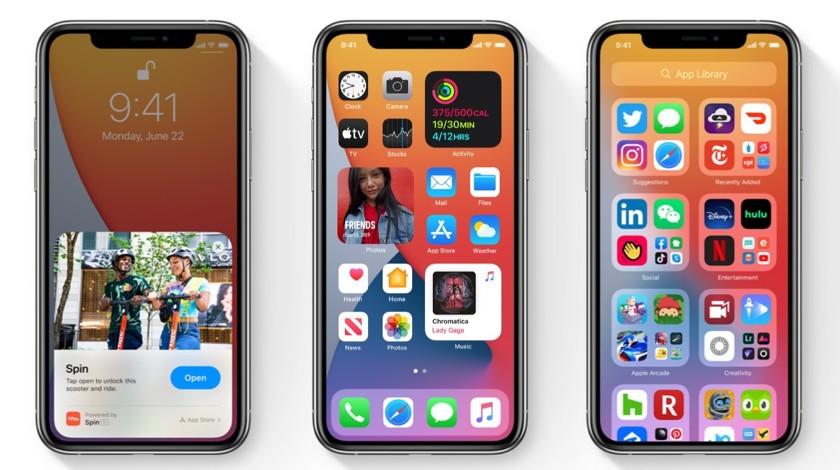 iOS 14 Apple iPhone
