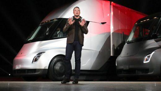 CEO Elon Musk Semi