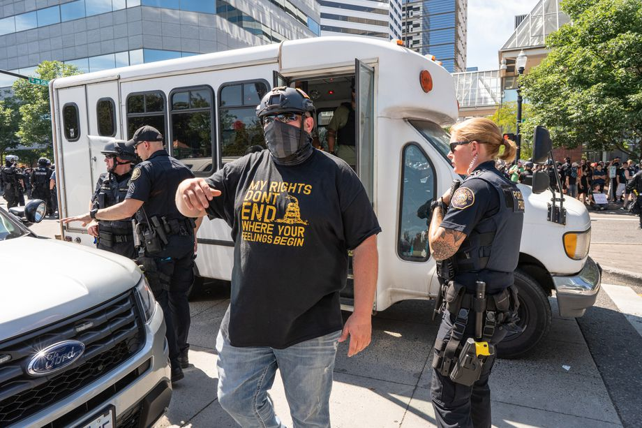 'Antifa bus' hoaxes are spreading panic through small-town America