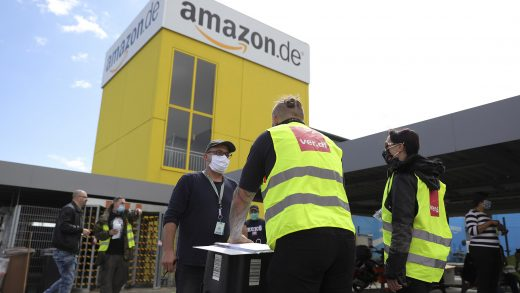 Amazon warehouse workers go on strike in Germany over coronavirus infections