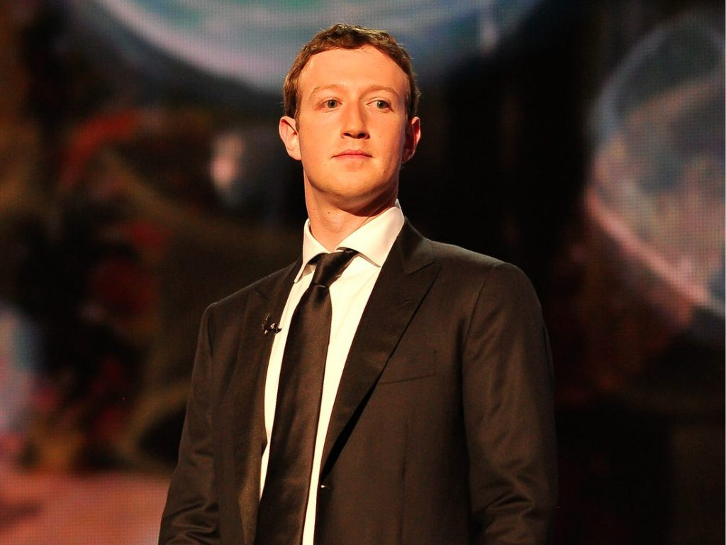 Mark Zuckerberg is a presenter at the 2014 Breakthrough Prizes Awarded in Fundamental Physics and Life Sciences Ceremony at NASA Ames Research Center on December 12, 2013 in Mountain View, Steve Jennings/Getty
