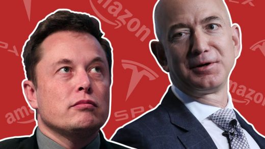 Elon Musk and Jeff Bezos have feuded over their respective space ambitions