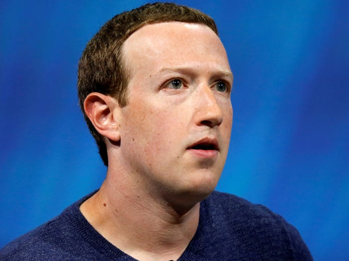 Mark Zuckerberg, Facebook's CEO and chairman. Reuters