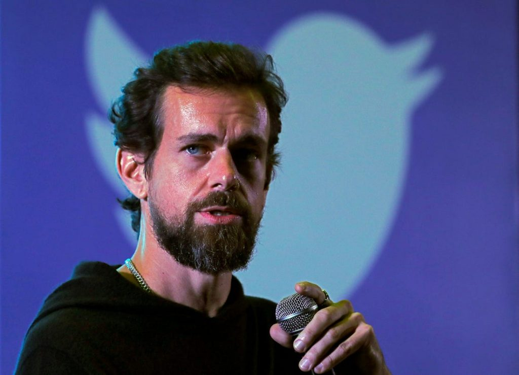 Twitter CEO and co-founder Jack Dorsey