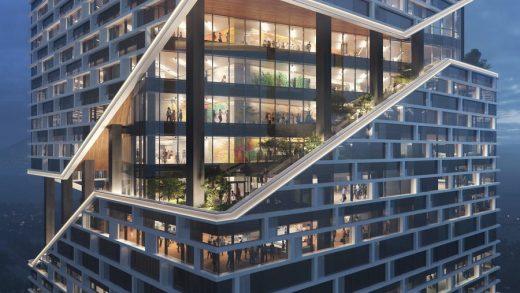 A rendering of Vivo's HQ. NBBJ
