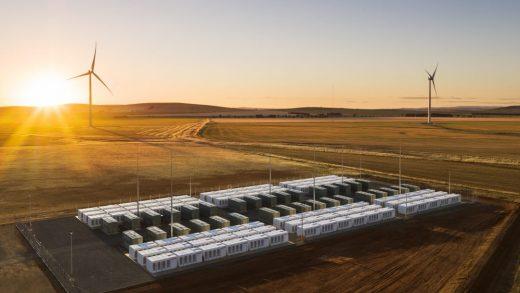 Tesla big battery in South Australia