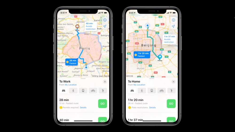 Apple Maps Will Now Have Electric Vehicle Routing