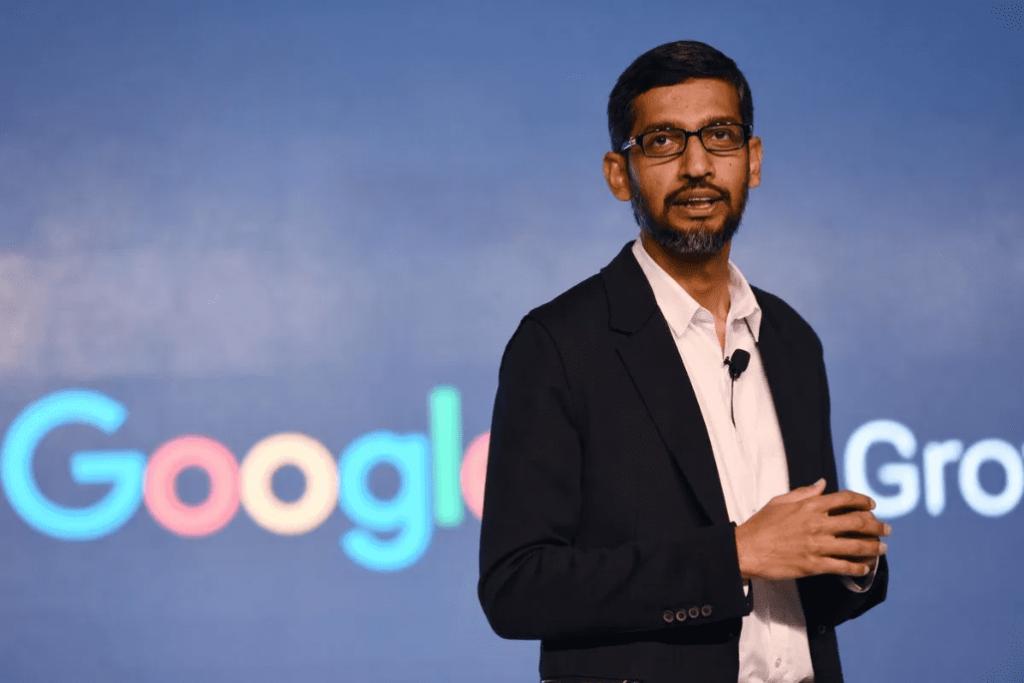 Alphabet CEO Sundar Pichai