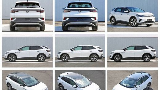 Volkswagen's ID 4 revealed in leaked images