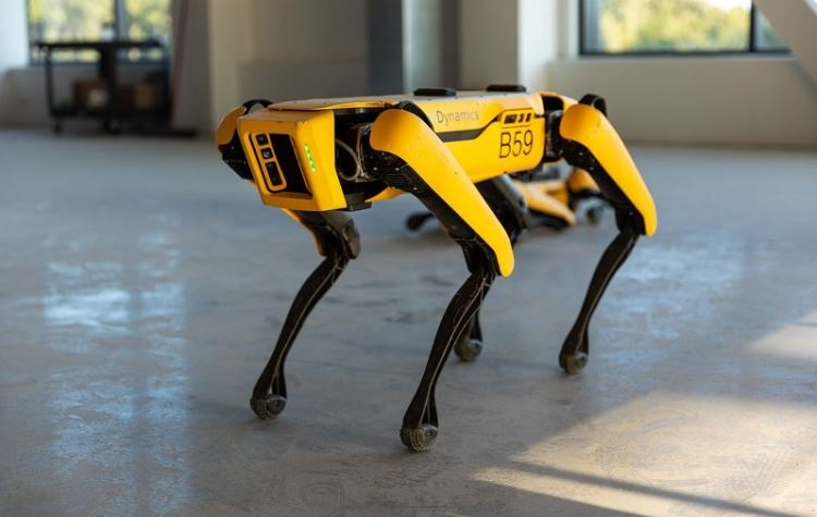 Boston Dynamics Tesla