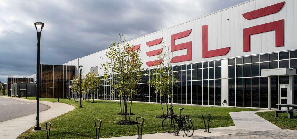 Tesla factory in Buffalo, New York
