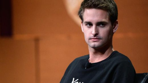 Evan Spiegel CEO of SNAP Inc