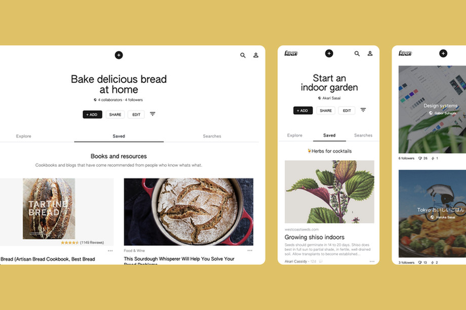 Google quietly launches an AI-powered Pinterest rival named Keen