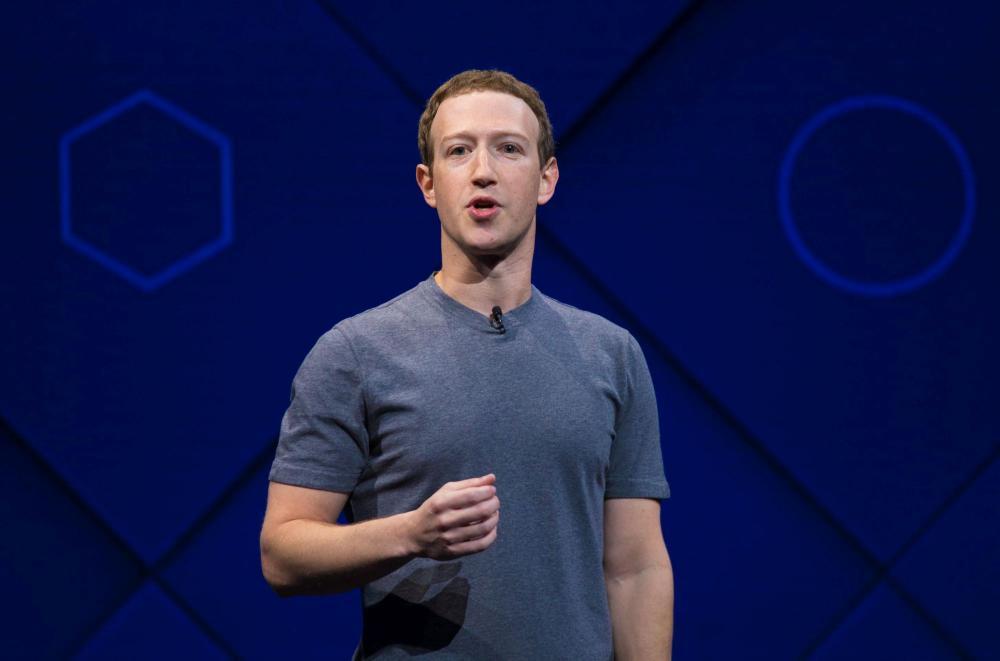 Mark Zuckerberg's Facebook Donald Trump