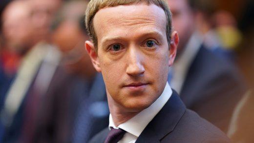 Facebook Mark Zuckerberg's Donald Trump