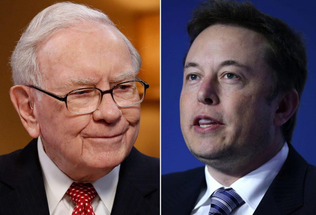 Elon Musk Warren Buffett